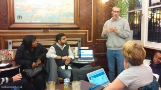Speaking at the WordPress Birmingham meetup