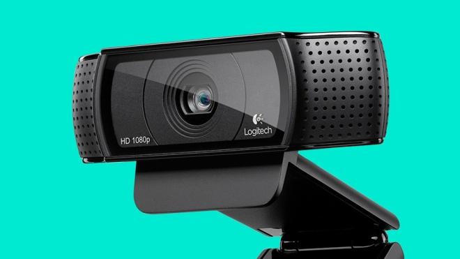 Logictech HD Pro C920 webcam image