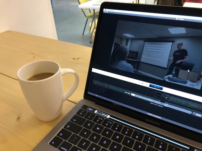Video editing on a Macbook Pro